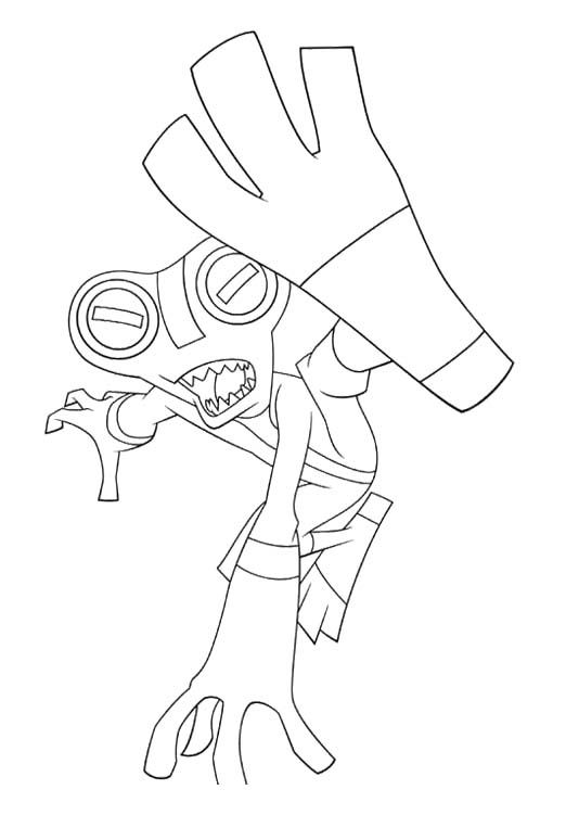 21 Best Images About Ben 10 Coloring Page On Pinterest