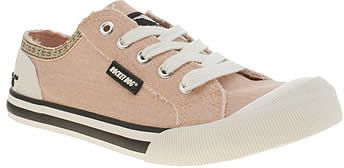 Womens pink beige rocket dog pale pink jazzin joker flats from Schuh - £38 at ClothingByColour.com