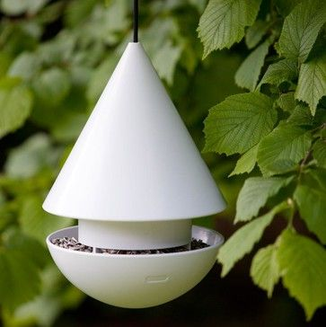 Love birds? - invite them to your garden by adding an imaginative bird house and feeder to your garden! Click for more bird house/feeder selections selections.