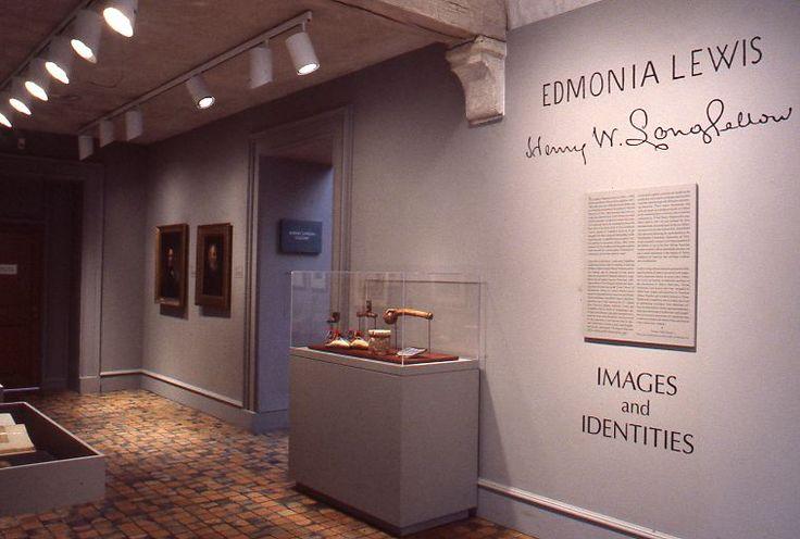exhibit featuring Edmonia Lewis and Henry Wadsworth Longfellow (1995)