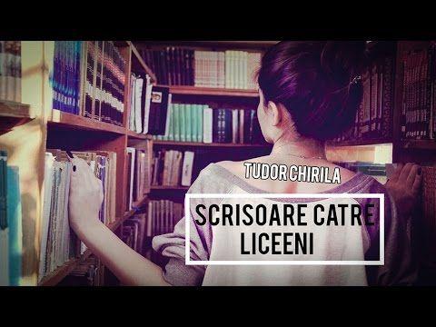SCRISOARE CATRE LICEENI (DE TUDOR CHIRILA)