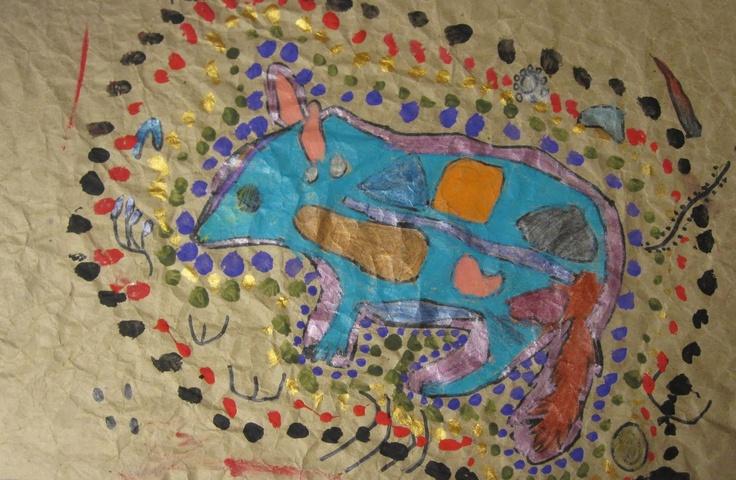 Art is Basic-- Art Teacher Blog: Australian Animals-- 2nd Grade