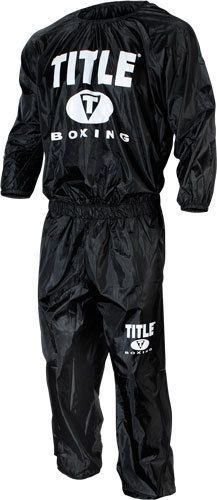Sauna Suits 179812: Title Sauna Sweat Suit Mma Gear Wrestling Equipment Boxing Workout Supplies -> BUY IT NOW ONLY: $54.95 on eBay!
