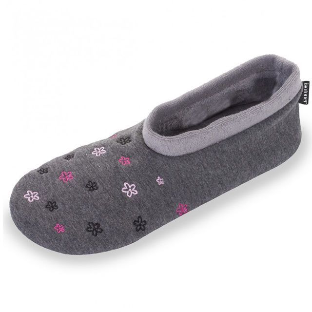 Grey Bootie Slippers Grey Bootie Slippers   Isotoner Slippers (Founded in 1880) is the number 1 brand, for slippers, on the french market. They are known for their superior style and comfort.