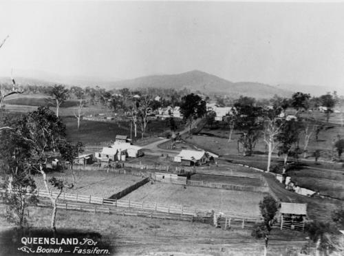 Boonah Township looking from Mount Carmel, ca. 1898
