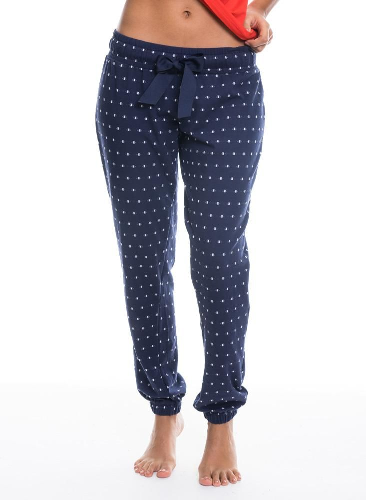 Pantalon Pijama Estampado Azul Pantalones De Pijama Ropa Ropa Basica