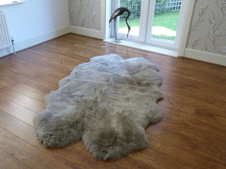 Luxurious Soft Sheepskin Rug Quad Vole. Perfect to use as a rug or as a throw. Snuggle Up with Our Gorgeous Sheepskins.