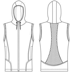 Confeccion de moda para todos Chaleco 2995 DAMA Chalecos