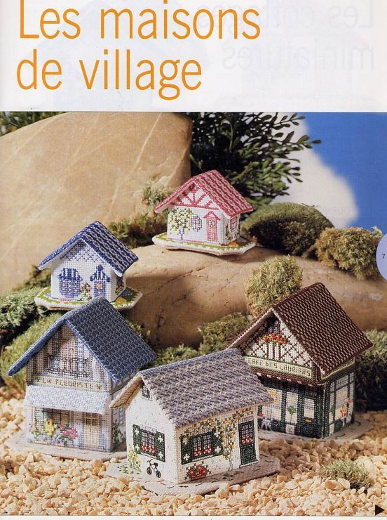 62 best Maison, cottages images on Pinterest Punto croce