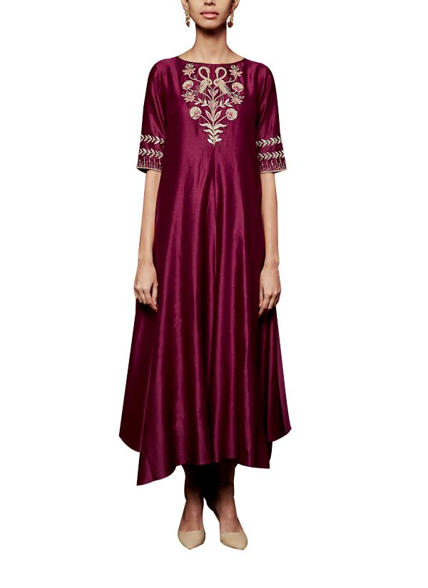 Indian Fashion Designers - Anita Dongre - Contemporary Indian Designer - The Shuchi Tunic - AD-AW16-PH3-FW16MB004