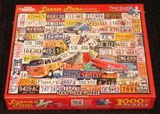 White Mountain rekisterikilvet Palapeli 1000 palaa - 961S