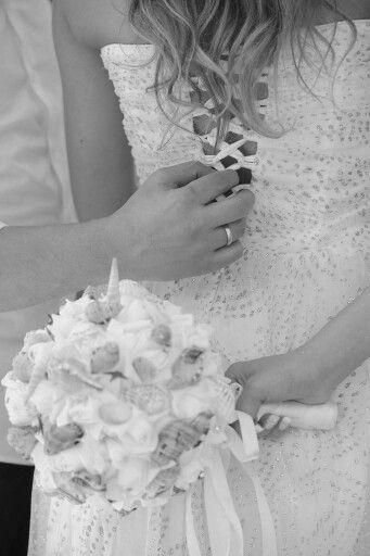 Wedding beach boquet