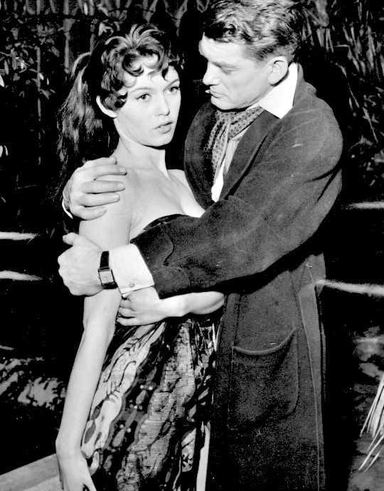 Brigitte Bardot and Jean Marais in School For Love (1955)