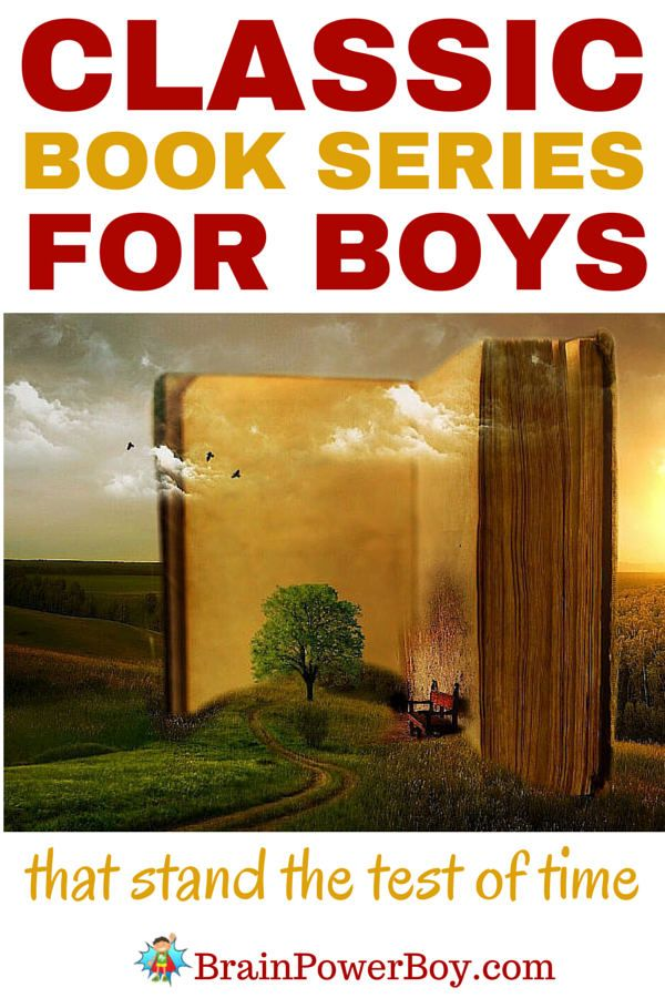 If you are looking for wonderful books for your boys to read, don't forget about the classics. See our list of classic book series for boys for great titles