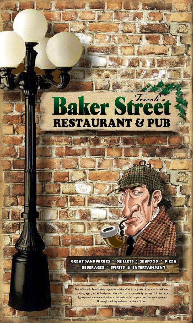 Baker Menu - Google Search