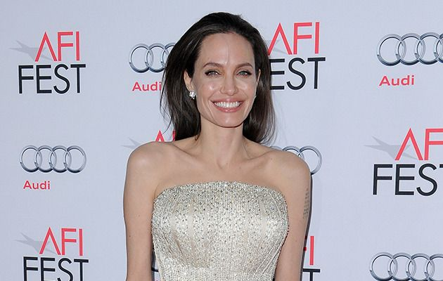"Angelina Jolie insists she is happy to be getting older as she feels more ""settled""."