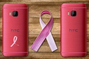 HTC One M9 goes pink for breast cancer awareness campaign