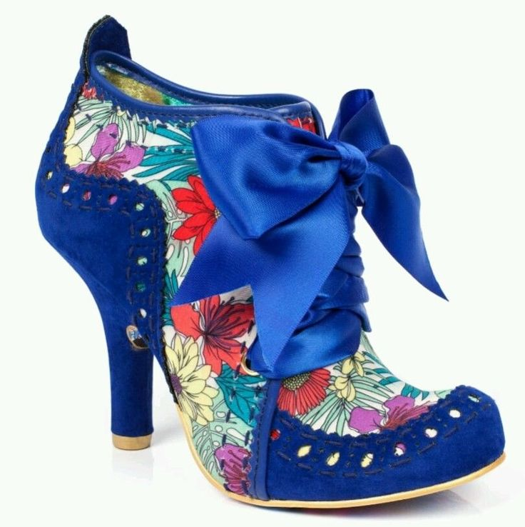 Irregular Choice boots Abigail 3rd Party Womens Fabric Blue Multi colour Heels  in Clothes, Shoes & Accessories, Women's Shoes, Heels | eBay!