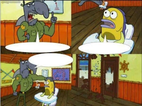 Image Result For Gambar Kata Kata Sedih Spongebob