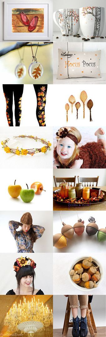 Autumn at home by Monika Kucharska on Etsy--Pinned with TreasuryPin.com