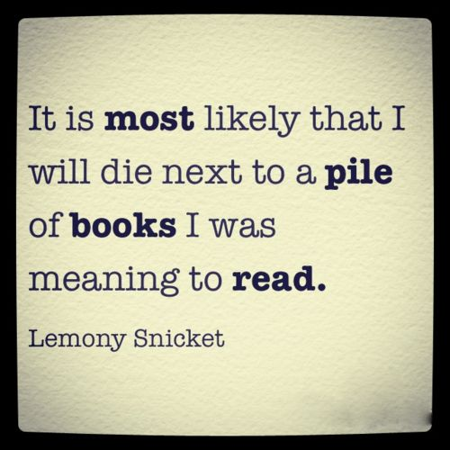 my end? quote lemonysnicket bookworm