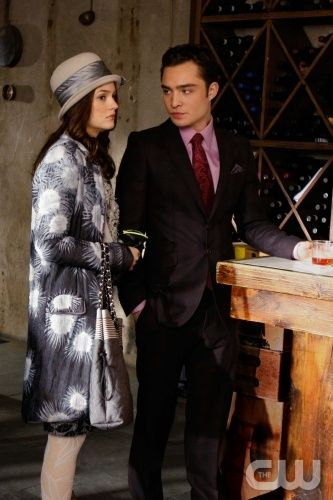 """The Empire Strikes Jack""  Pictured: Leighton Meester as Blair, Ed Westwick as Chuck  Photo Credit: Giovanni Rufino / The CW  © 2009 The CW Network, LLC. All Rights Reserved."