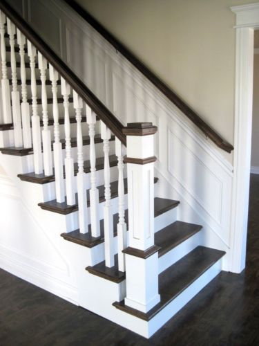 Details About Recessed Panel Box Newel Post 6x6 Poplar 10