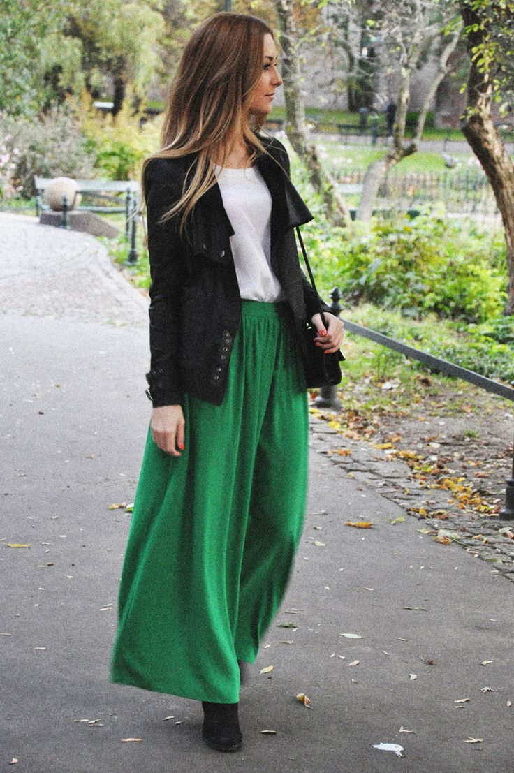 Maxi skirt+blazer and boots!?