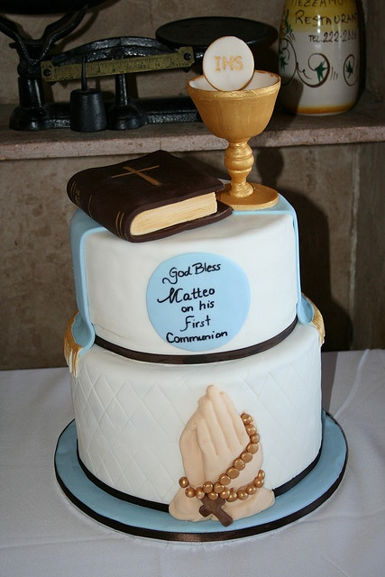 First Communion Cake | Flickr - Photo Sharing!