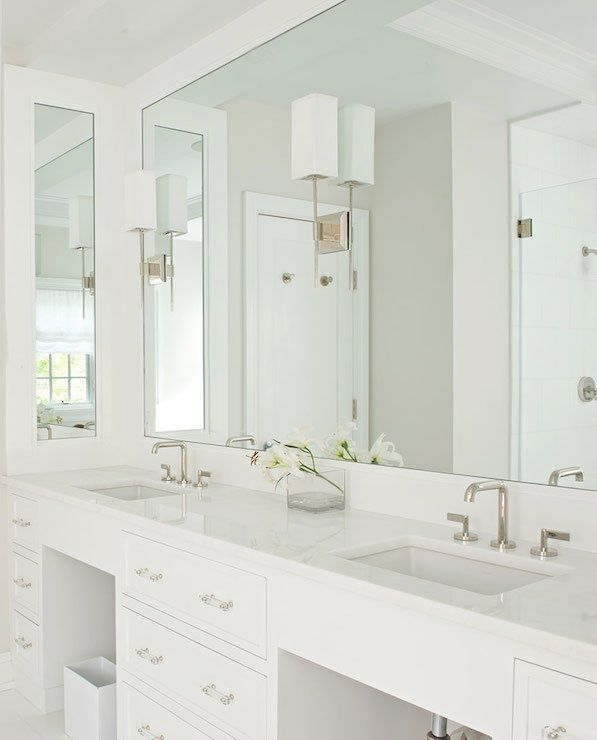 Image Result For Sconces Mounted On Mirror Bathroom Interior