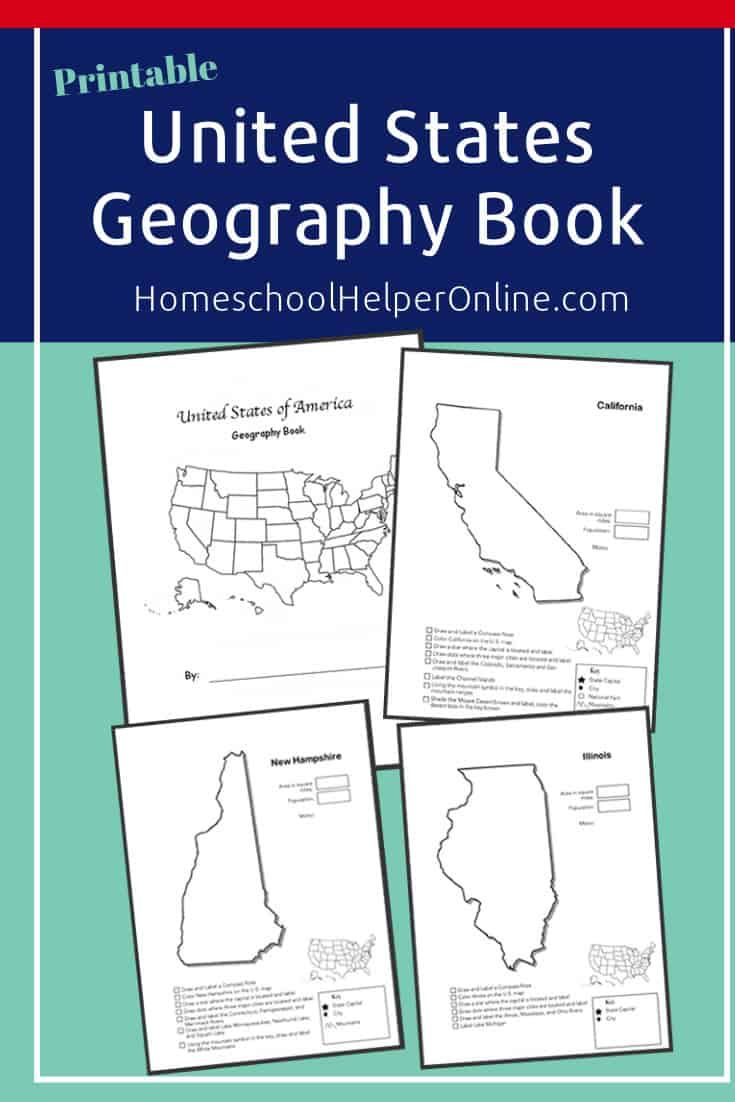 State Geography Worksheet Bundle Geography Worksheets Homeschool Worksheets Homeschool Worksheets Free