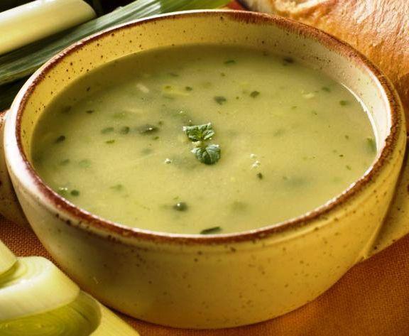 Zuppa di melanzane spinose