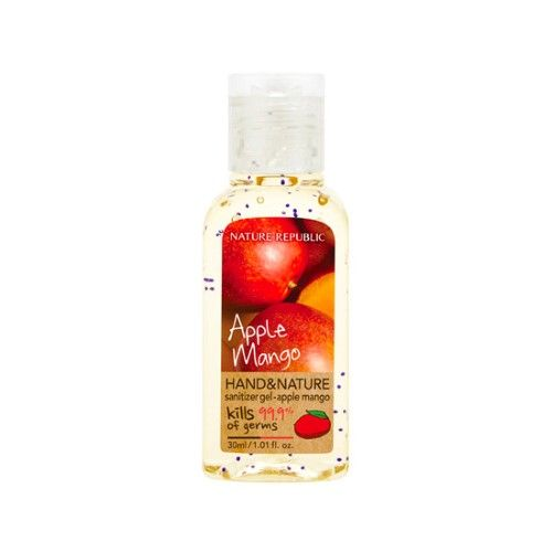 Nature Republic Hand Nature Sanitizer Gel Apple Mango Orange