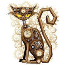 24048248-steampunk-cat-vintage-stílus