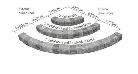 Alpha Antique Kerb Dimensions