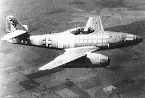 The ME262, the first jet fighter. This amazing aircraft was so far ahead of its time. It could almost reach supersonic speed and contained an automatic cannon. Since it was close to the end of the war when it came out and the Germans we so short of materials, it really was a death trap and many pilots died. Much of the interior was made of wood because so many materials could not be found. The fuel was incredibly explosive and yet this plane still lead the way for all modern fighters today.