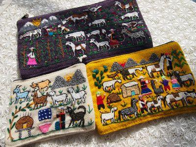 ボリビア(タリスキア村)刺繍