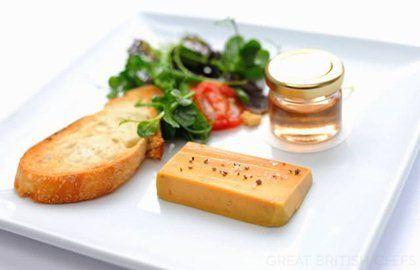 Foie gras terrine - Stephen Crane