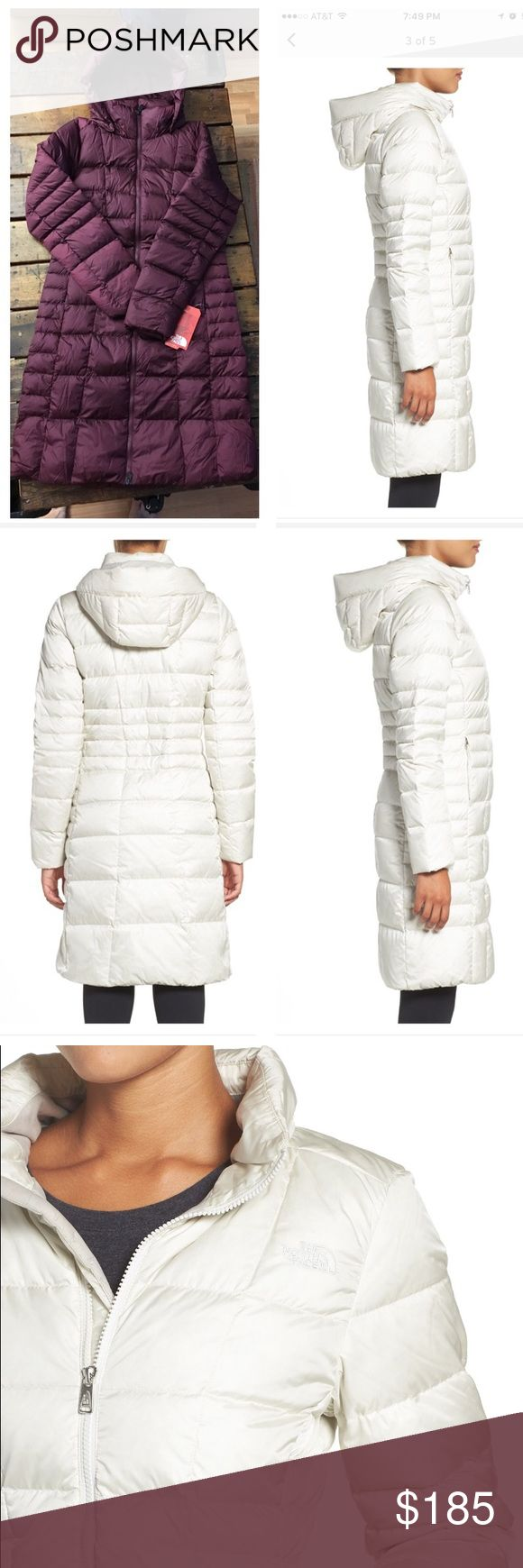 North Face Metropolis 2 Down Parka NWT. North Face Metropolis 2 Down Parka, water resistant. Color, Deep Garnet Red. Currently at Nordstrom for $289.❗️PRICE FIRM, no bundle discount❗️ North Face Jackets & Coats