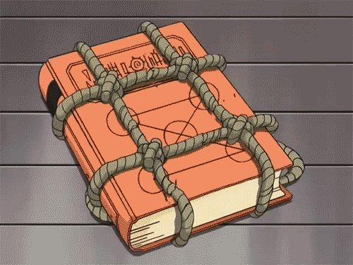 Zatch Bell Ponygon book (GIF set)