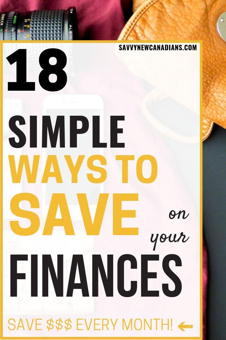 Diese 18 einfachen Tipps helfen Ihnen, Geld für Ihre persönlichen Finanzen zu …   – Frugal Living Ideas, Tips and Inspiration.