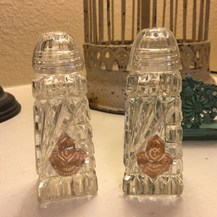 A beautiful set of salt-and-pepper shakers to add to your holiday dining table