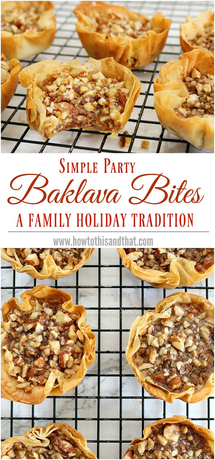 A super quick and easy alternative to traditional baklava recipe. Parties , appetizer , holiday