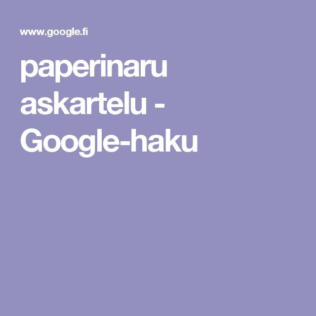 paperinaru askartelu - Google-haku