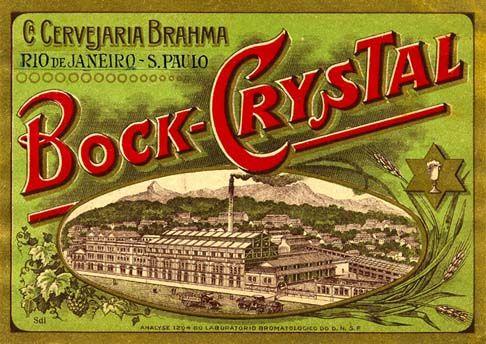 Cervejaria Brahma - Cerveja Bock Crystal