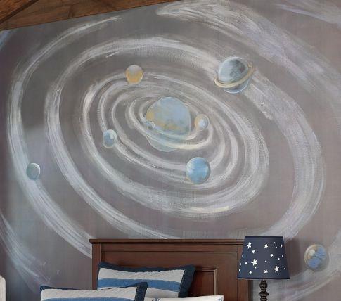 Galaxy Mural | Pottery Barn Kids