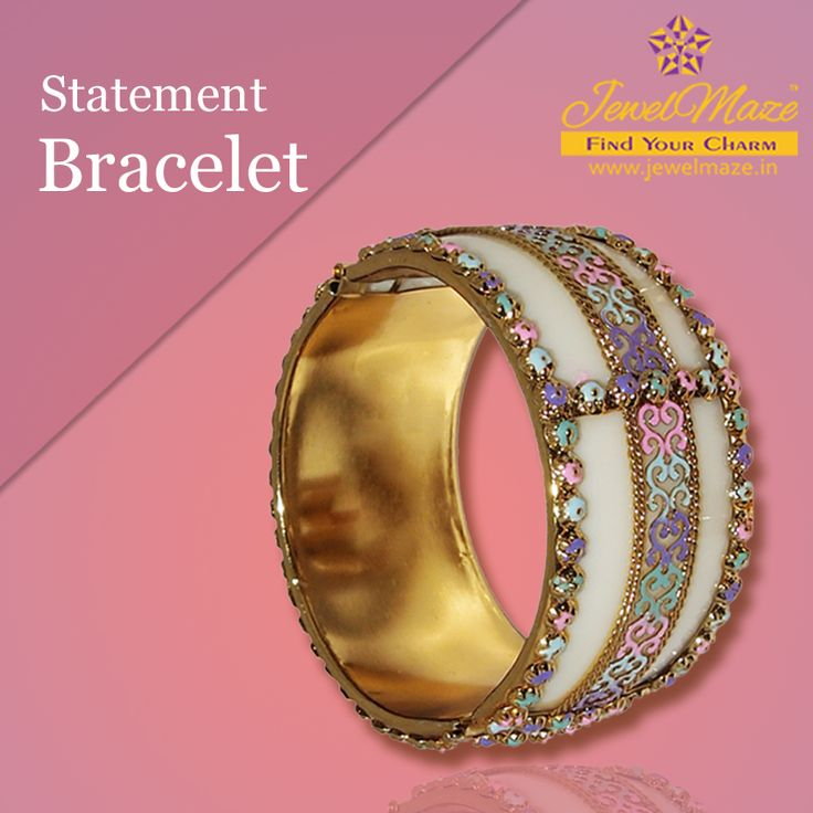 Make a statement at the party with this stunning bracelet #statement #bracelet #jewellery #JewelMaze