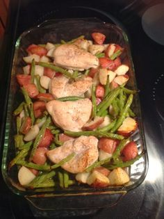 Where To Buy Shakeology | Shakeology Cleanse | Beachbody 21 Day Fix: Garlic & Lemon Chicken with Red Potatoes and Green Beans