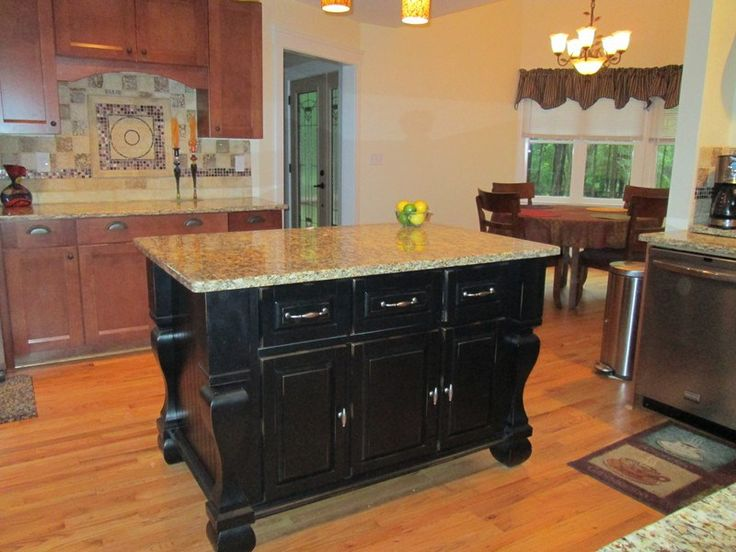 1000 ideas about black kitchen island on pinterest for Kitchen island houston
