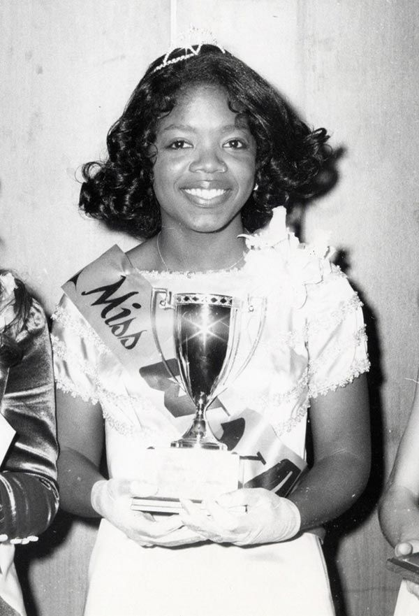 Image result for oprah winfrey Miss Black Tennessee beauty pageant.